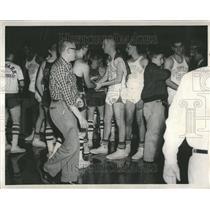 1957 Press Photo Proviso High Basketball After Game - RRV43921