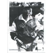Press Photo Richard Edward Rich Kotite coach Philadelphia Eagles Football League