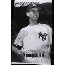 1971 Press Photo Don Larseni (New York Yankees) - RRW74189