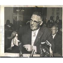 1960 Press Photo Alderman Carey addresses the Civil rig- RSA53295