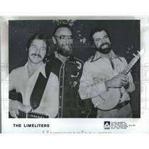 1981 Press Photo Limeliters Music Performance Singing - RRV26243