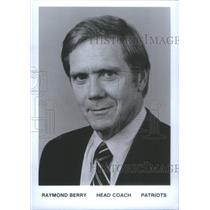 Press Photo Raymond Berry, Head Coach, New England Patriots - RSC28303