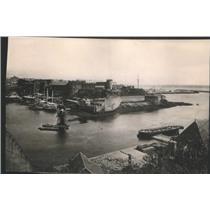 1918 Press Photo Brest, France - RSC86595