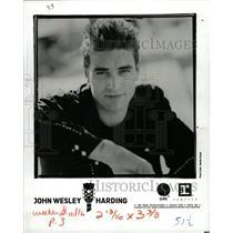 1990 Press Photo Wesley Stace John Wesley Harding folk - RRW17013