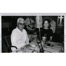 Press Photo Charlie Chaplin Future Wife Oona O'neil - RRW69507