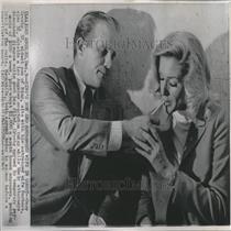 1965 Press Photo Gary/Barbara/Bing Crosby/Divorce/Actor - RRV27831