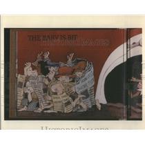 1993 Press Photo Maurice Sendak Children Life Risky Business Dump Kid Rock Bye