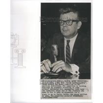 1964 Press Photo New York Travel Agent George Luke - RSC06449