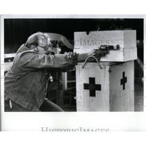 1984 Press Photo Michigan Police Training - RRX55523