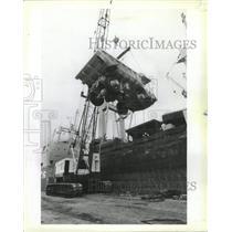 1983 Press Photo Payhauler Corporation Trucks - RRW40963
