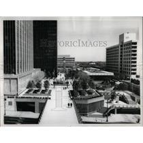 1967 Press Photo Constitution Plaza Hartford Conn. - RRY61763