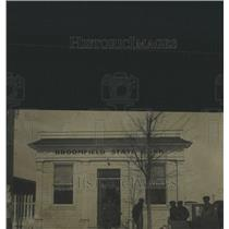1929 Press Photo Broomfield State Bank, Colorado. - RRX82163