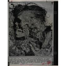 1963 Press Photo Mummified Body Man Wyoming Cave - RRX69945