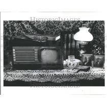 1983 Press Photo of Earlier Photo of Motorola Radio - RRU83997