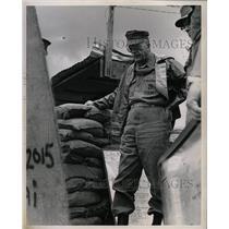 1968 Press Photo General Chapman Survey Positions - RRX64183