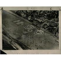 1927 Press Photo Air View Of Deauville, France - RRX80477