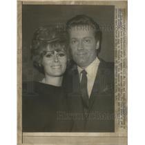 1967 Press Photo Actress Jill St John Jack Jones singer separates marriage