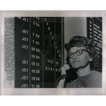 1964 Press Photo Airline Strike - RRU88167