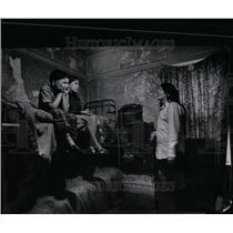 1970 Press Photo Pietz Chippewa housing slums tents - RRU98547