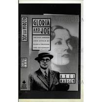 1988 Press Photo Gloria Joe Love Affair Joseph Gloria - RRW75575
