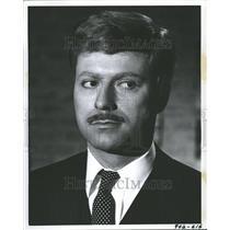 1967 Press Photo Actor Alan Arkin Closeup Profile - RRV77969