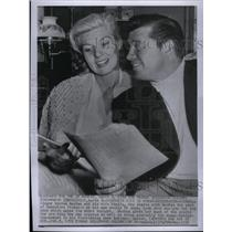 1956 Press Photo Gordon/Sheila MacRae/Actor/Singer - RRX33257