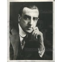 1925 Press Photo Walter Hampden Actor Theater Manager- RSA54903