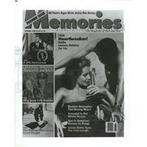 1988 Press Photo Premier Issue Memories Magazine - RRW46845