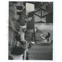 1984 Press Photo Emmanuel Lewis Susan Clark Alex Karras - RRX90303