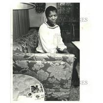 1978 Press Photo Mrs Althea Elliot Susie Colins Temple - RRW40581