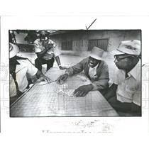 1982 Press Photo Kern Black Gambling Activities Detroit - RRV37229