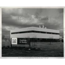 1986 Press Photo PPG Pittsburgh Paints Auburn Hills - RRX55353