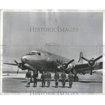 "Press Photo President Truman's Plane ""The Flying White House"" - RSC46037"