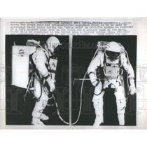 1965 Press Photo Astronaut David Scott Test subject Fred Spross - RSC48337