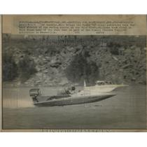 "1923 Press Photo David Williams of Lornine Sport ""E"" Class Motorboat Ohio River"