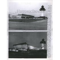 1962 Press Photo Dulles International Airport Kennedy - RRU13581