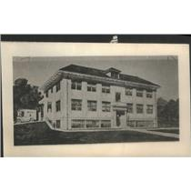 1916 Press Photo Emergency Hospital of Youngstown Ohio - RSC86755
