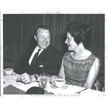 1963 Press Photo Walter Reuther Wife May Emil Mazey - RRV29091