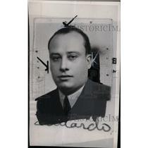 1945 Press Photo Edwards Mayea Cuban Consul - RRW71369