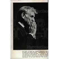 1981 Press Photo Leonard Bernstein Conductor Composer - RRW97949