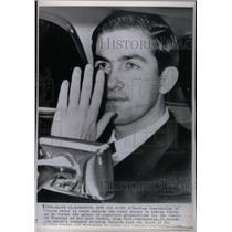 1964 Press Photo King Constantine Greece Royal Palace - RRX28593