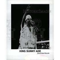 11993 Press Photo King Sunny Adé Juju Music - RRW10365