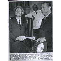 1960 Press Photo Actor Ralph Bellamy president Equity - RRV15081