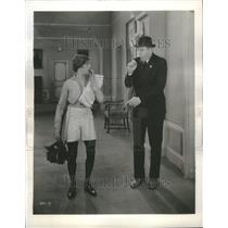 1928 Press Photo Actors Karl Dane George Arthur - RRU05655