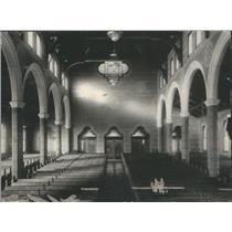 1917 Press Photo Inside shot of a Chapel - RSC86881