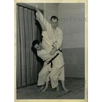 1962 Press Photo Sodetsukomi goshi Jim Colgan Bill Judo - RRW82675