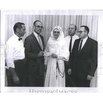 1111 Press Photo Sister Mary Joann Adminstrator of St. Elizabeth's Hospital
