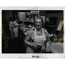 1981 Press Photo Detroit Restaurant Giovannis Mama Rosa - RRY72697