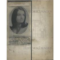 1973 Press Photo Sheila Broughel who was stabbed to death in her garage.