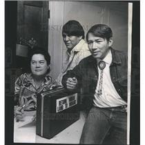 1970 Press Photo Grace Thorpe/Jim Thorpe/B. Whitebear - RRU13409
